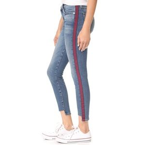 Current/Elliott Mid-Rise The Stiletto Skinny Jeans